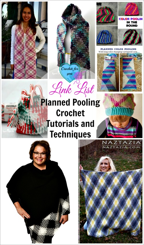 Planned Pooling Crochet Tutorials and Techniques