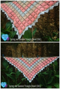 Part 4: Spring and Summer Triangle Shawl (CAL) 2015