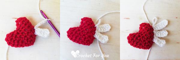Crochet Heart Angel Free Pattern