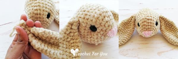 Crochet Velvet Bunny Lovey Free Pattern