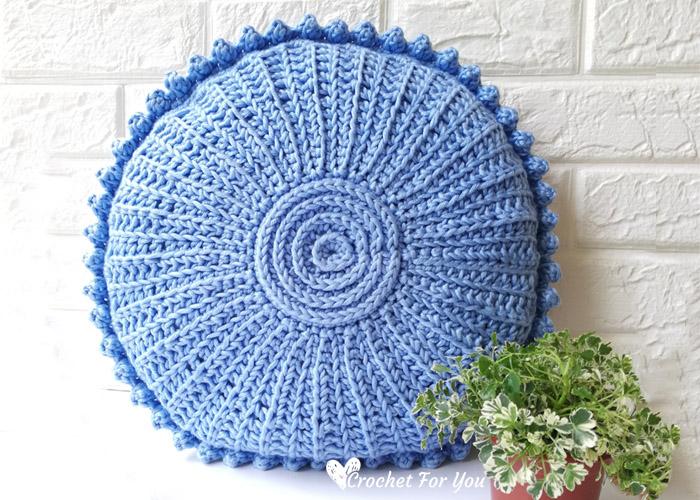 Crochet Pillow Free Pattern