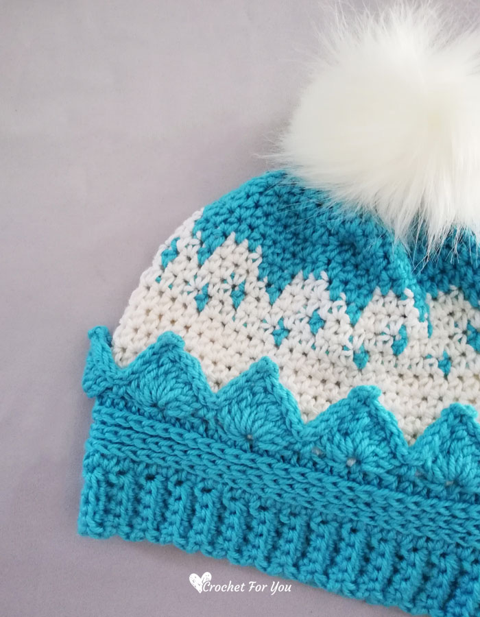 Crochet Crown Hat