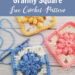 Crochet Bobble Drops Flower Granny Square