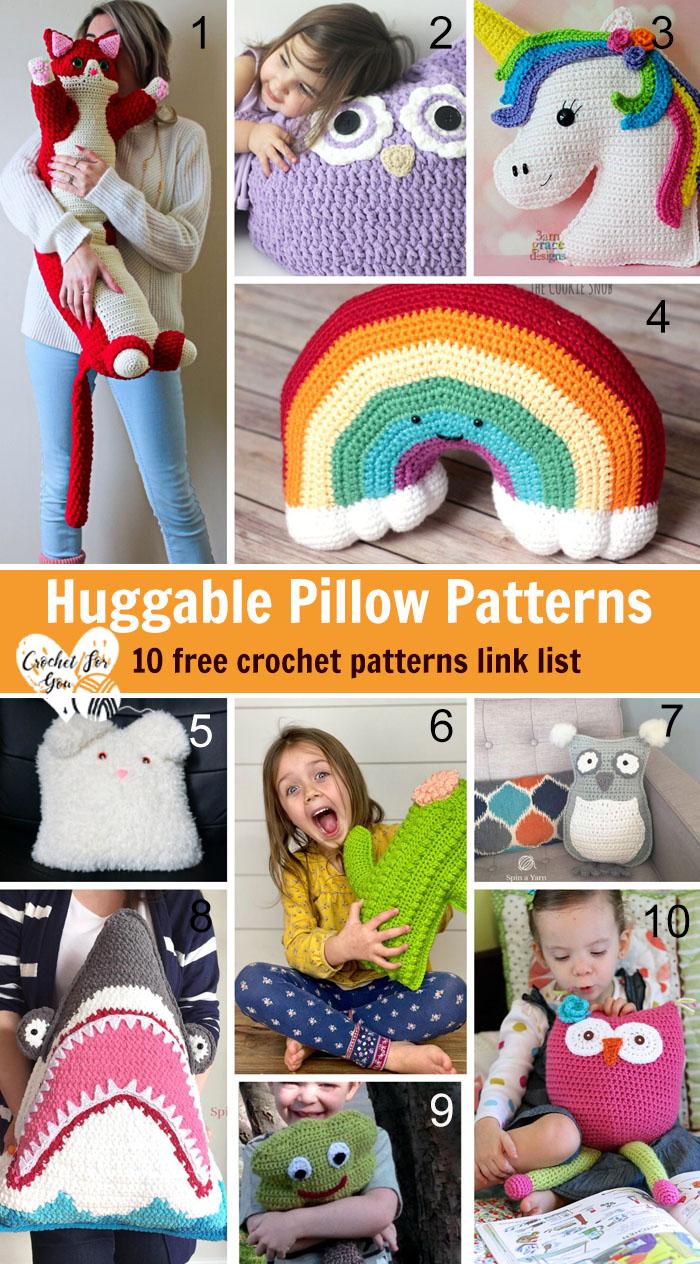 Crochet Huggable Pillow Patterns