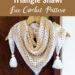 Crochet V Stitch Triangle Shawl Free Pattern