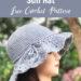 Floppy Shell Brim Sun Hat Free Crochet Pattern