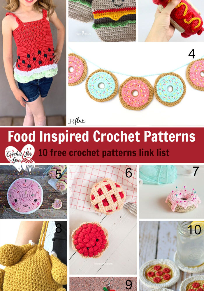 Food Inspired Crochet Patterns