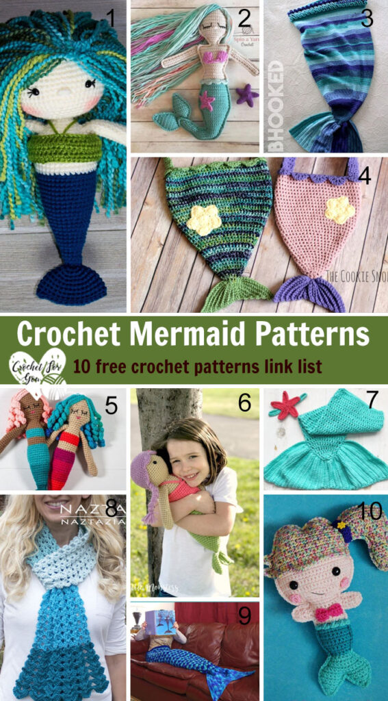 Crochet Mermaid Patterns