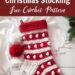 Crochet Bobbles & Stripes Christmas Stocking Free Pattern