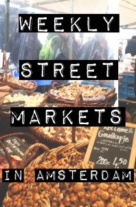 From vegetables to bicycle parts to cheese to vintage clothing, there is something for everyone at Amsterdam's weekly street markets. -awesomeamsterdam.com