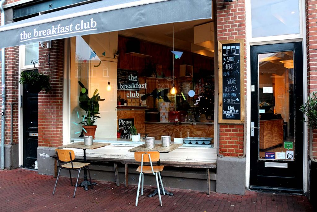 The Breakfast Club serves breakfast, brunch, lunch and coffee in the cosmopolitan style of New York and Paris but in a cozy and relaxed cafe setting. Now with 4 locations!