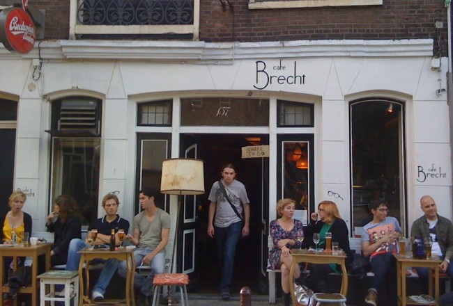 STEP BACK IN TIME AT CAFE BRECHT Amsterdam