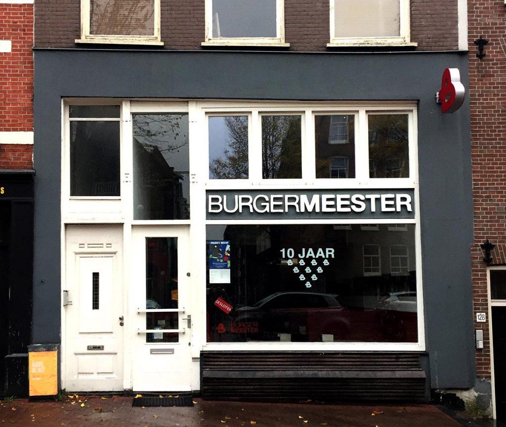 BEST VEGGIE BURGERS IN AMSTERDAM - burgermeester
