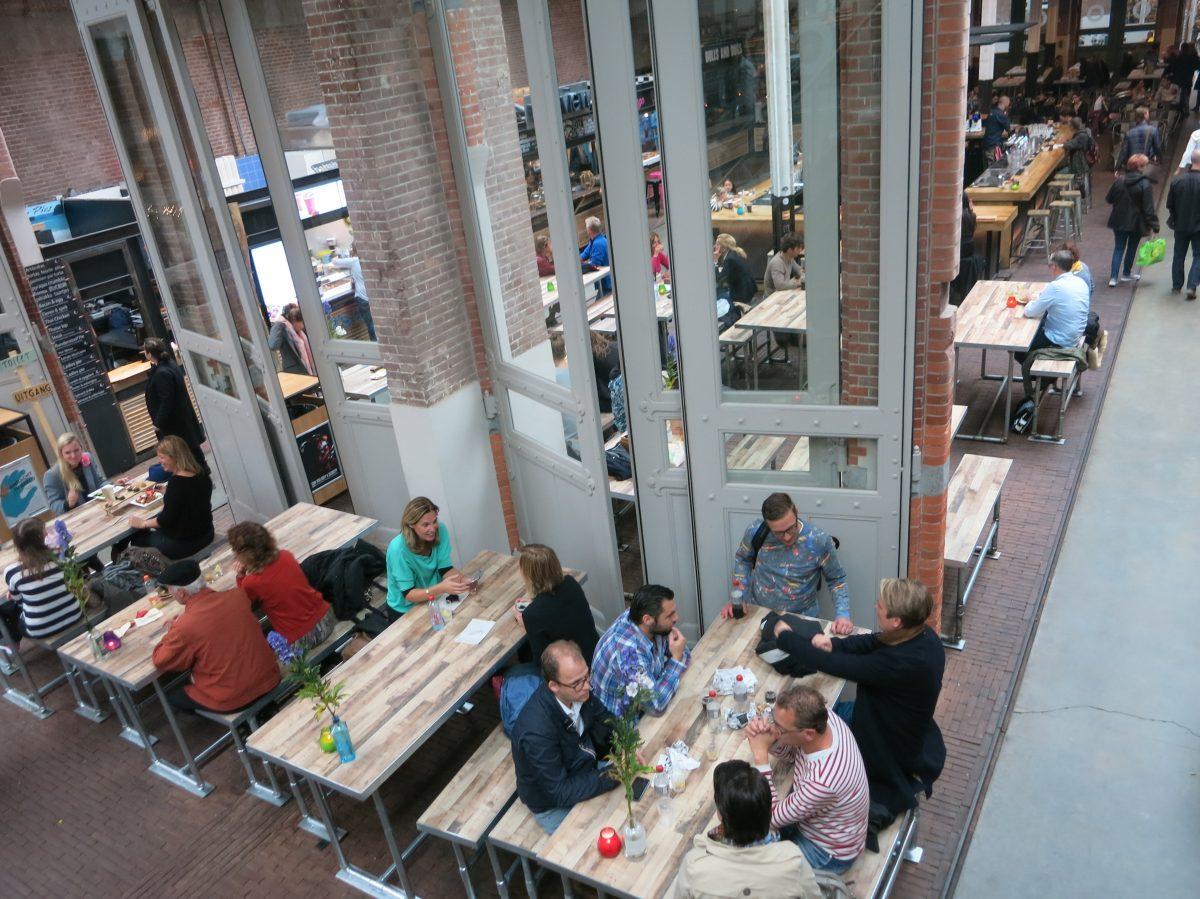 Amsterdam Restaurants for Large Groups : Foodhallen Amsterdam