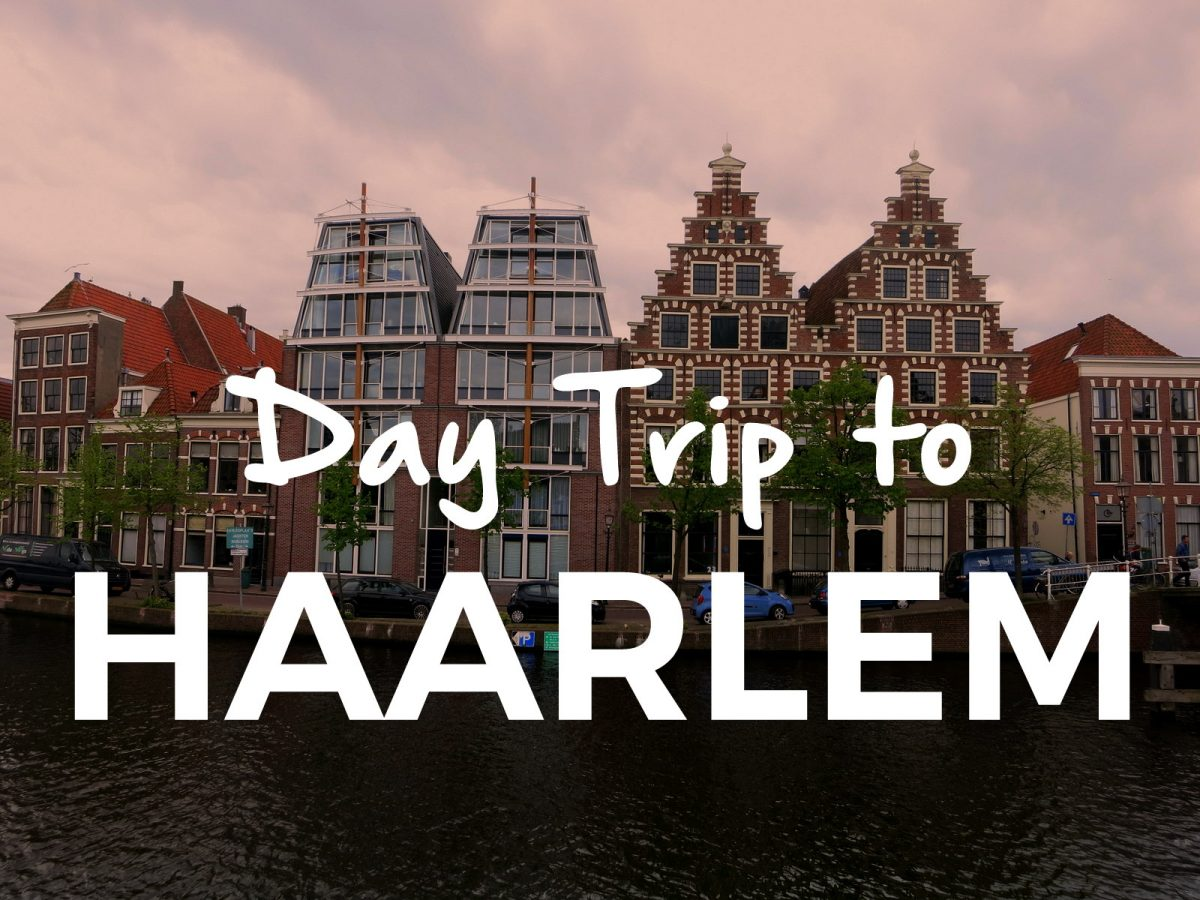 Haarlem is one of the most charming towns in the Netherlands, and it's just a short hop away from Amsterdam. Check it out on a day trip from Amsterdam.
