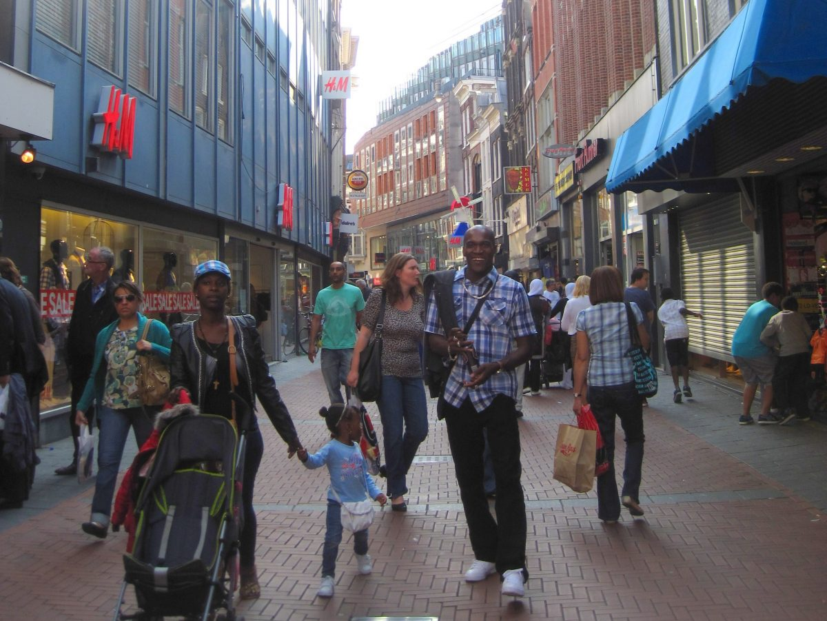 SHOPPING FOR CLOTHING IN AMSTERDAM