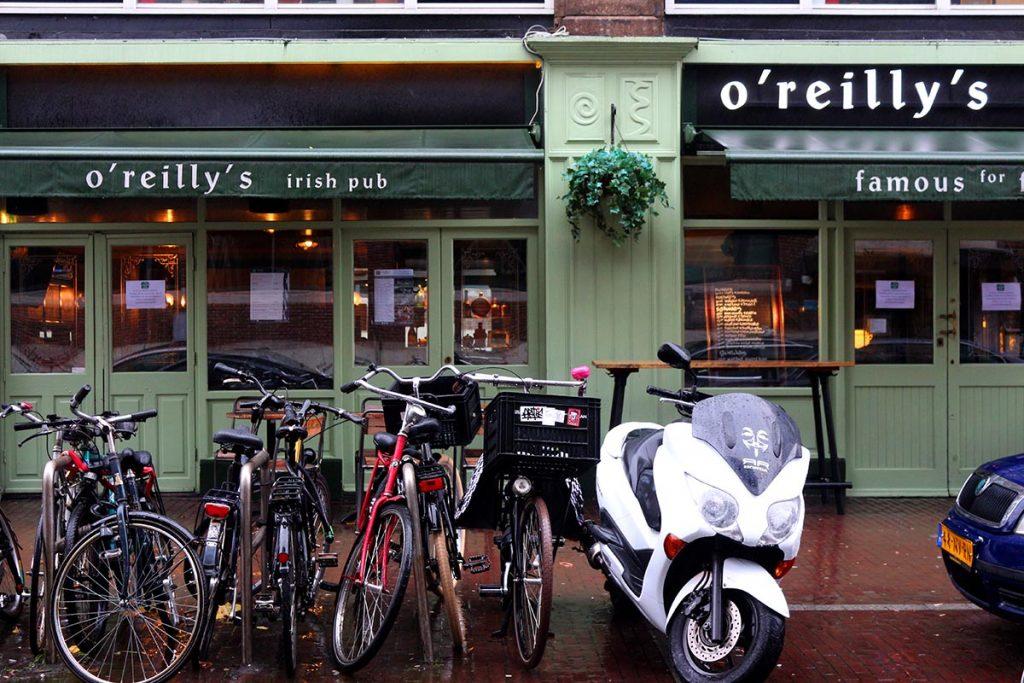 6 Irish bars in Amsterdam - O'Reillys