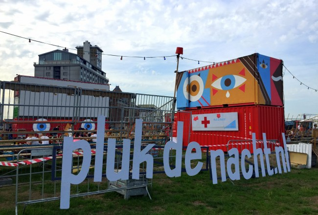 Pluk de Nacht Open Air Film Festival Amsterdam screens interesting films nightly for free on the edge of the IJ.