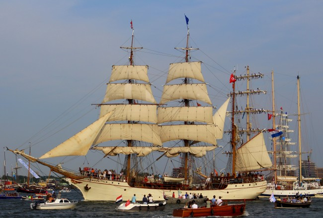 SAIL Amsterdam 2015 Sail out tall ships