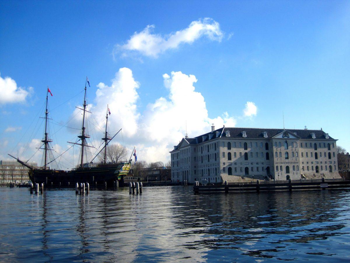 HET SCHEEPVAARTMUSEUM • EXPERIENCE THE HISTORY OF SHIPPING •Maritime Museum Amsterdam