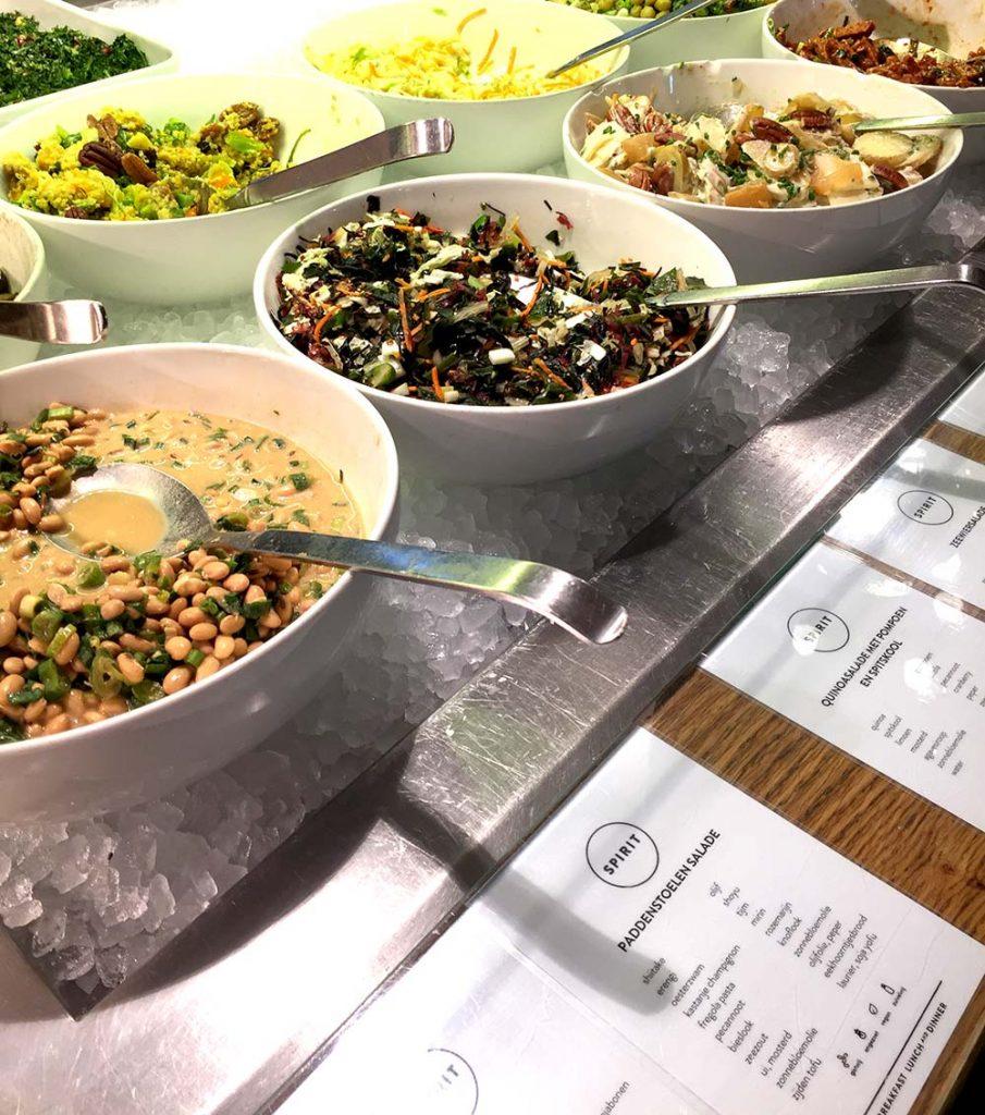 Spirit Amsterdam - vegetarian buffet