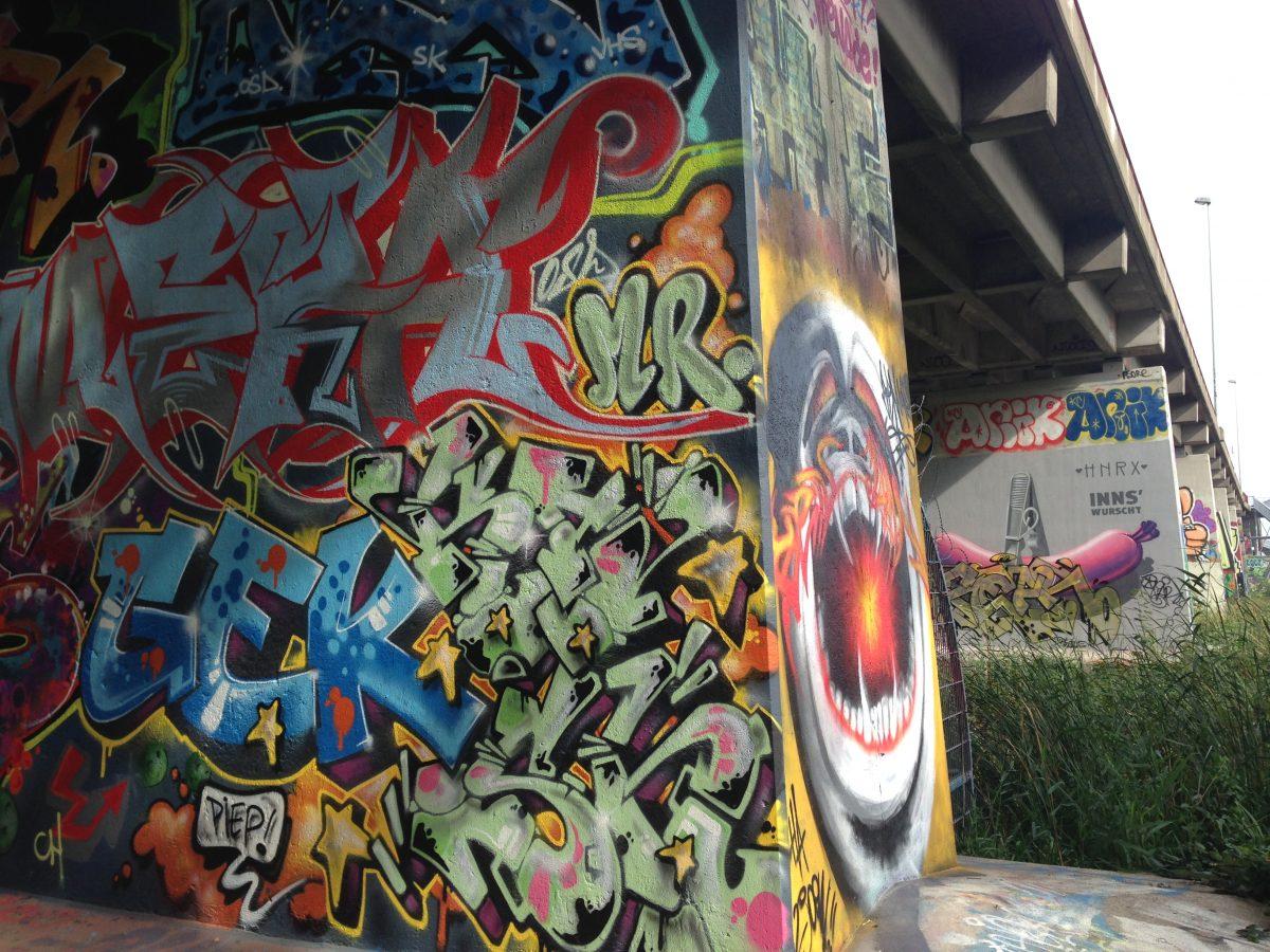 Amsterdam street art :: oost