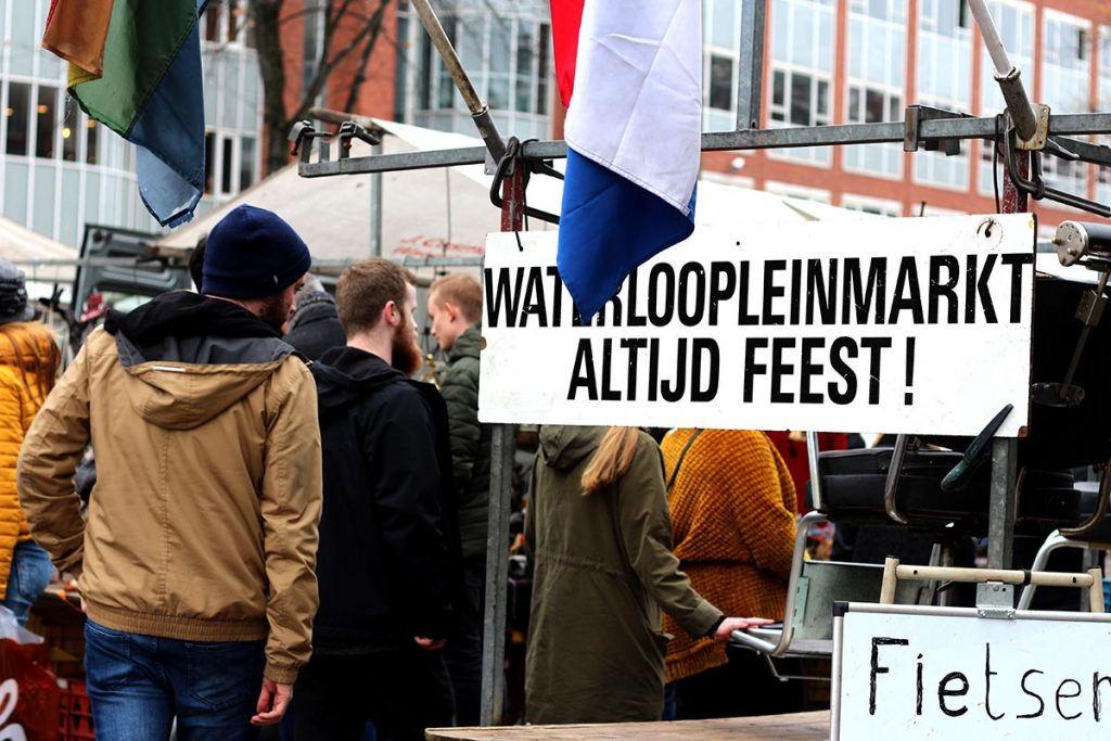 AMSTERDAM'S WEEKLY STREET MARKETS- waterlooplein market