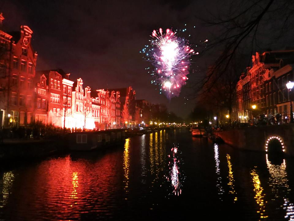 Here are a few popular spots to catch the midnight fireworks displays in Amsterdam this New Years Eve.