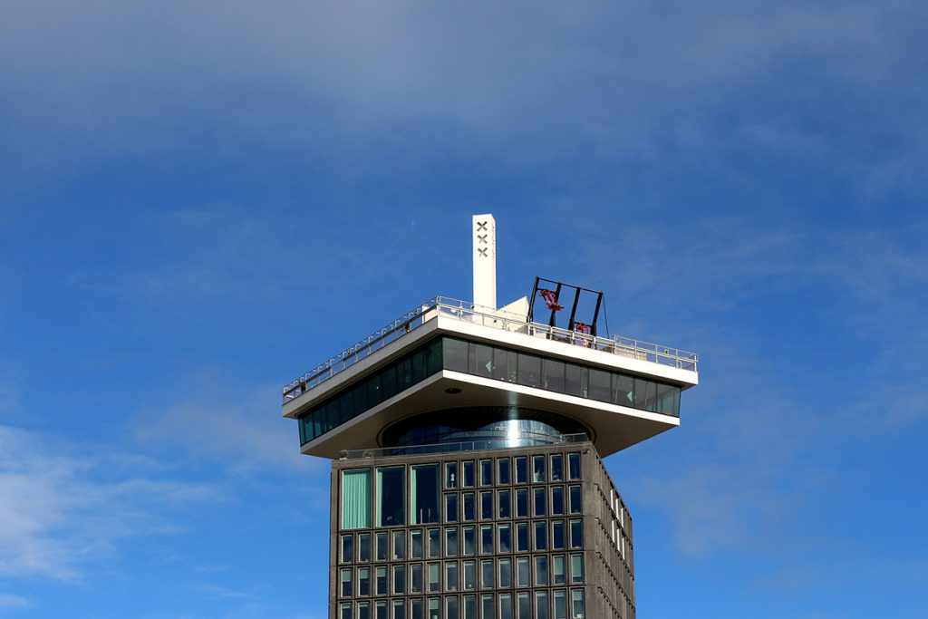 Adam Toren The former Shell office tower has been transformed into a stylish destination complete with penthouse restaurant and bar Madam, rotating restaurant Moon and a panoramic rooftop