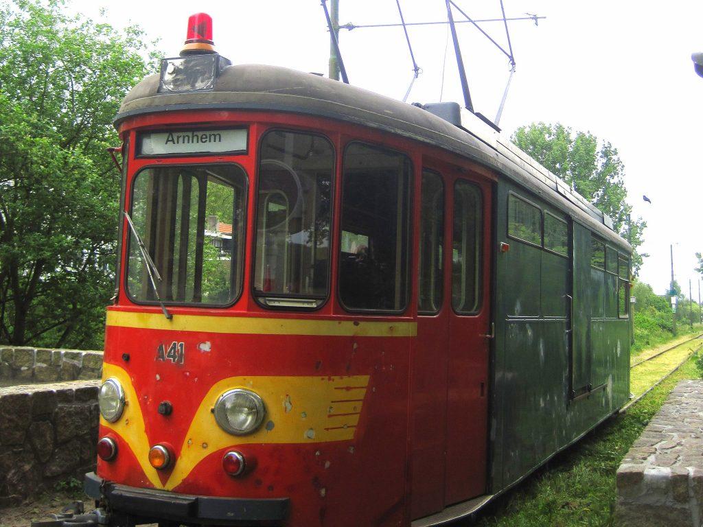 amsterdamse bos historic tram