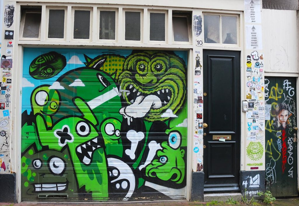 THE BEST PLACES TO CHECK OUT STREET ART IN AMSTERDAM