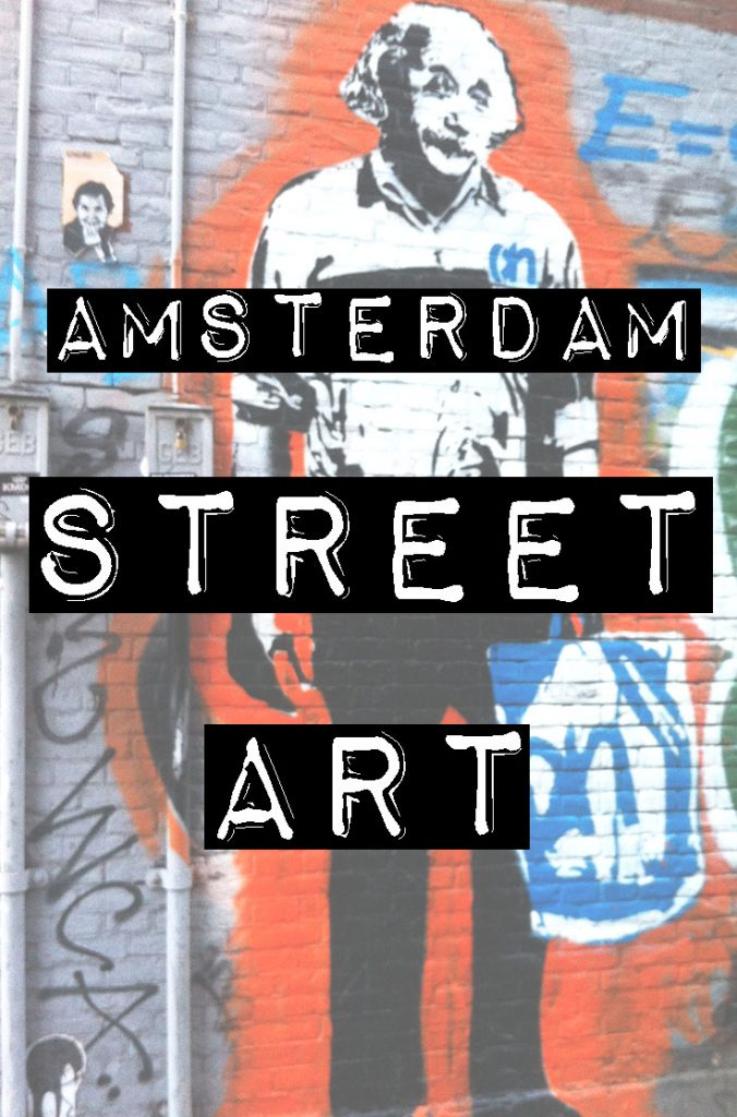 Amsterdam street art :: While there are certain areas in Amsterdam that might have more street art than others, I recommend just wandering around and keeping your eyes peeled for interesting examples. Most of my favorite works are found in random places around the city. Best street art in Amsterdam, Amsterdam graffiti locations