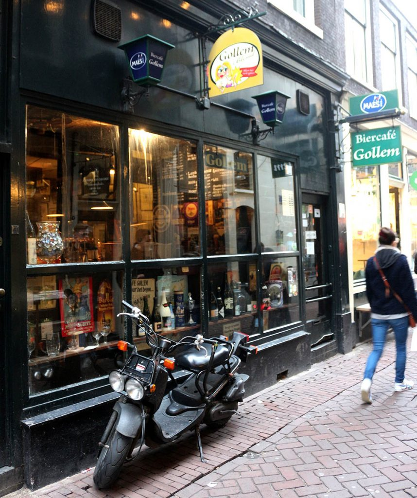 GOLLEM AMSTERDAM • FOUR SPECIALTY BEER CAFES