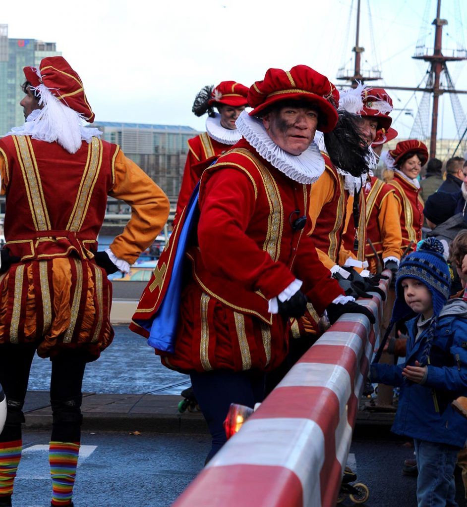 Sinterklaas in Amsterdam 2017 Pieten