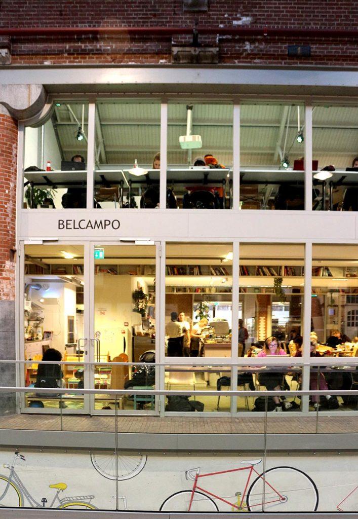 OBA de Hallen Belcampo - Amsterdam public library cafe