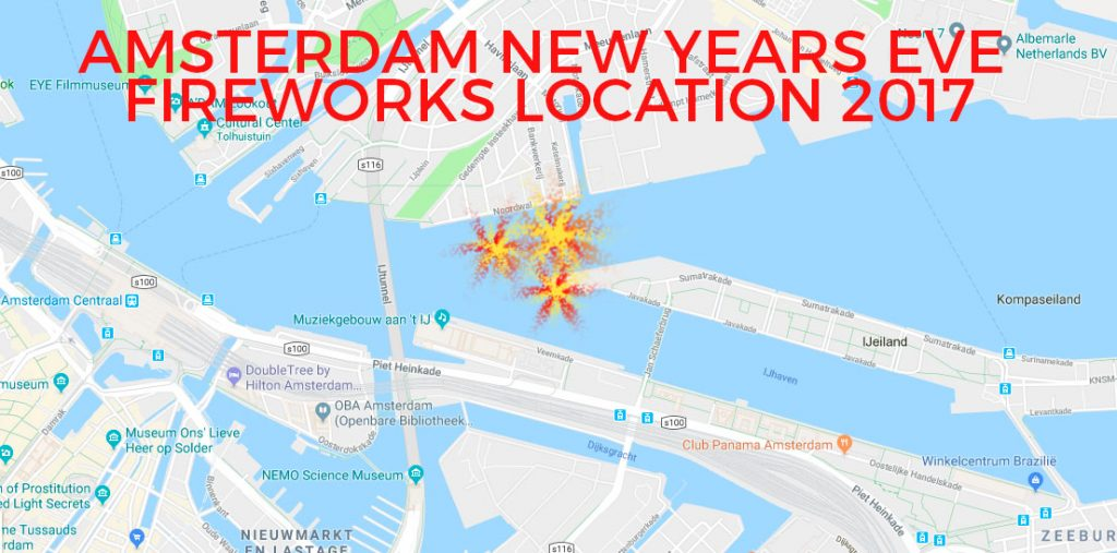 AmsterdamFireworks Shows on New Years Eve 2017-18