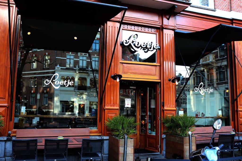 Restaurant Loetje Amsterdam