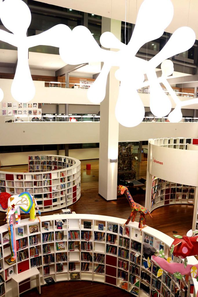 18 Coolest Libraries in Amsterdam - OBA