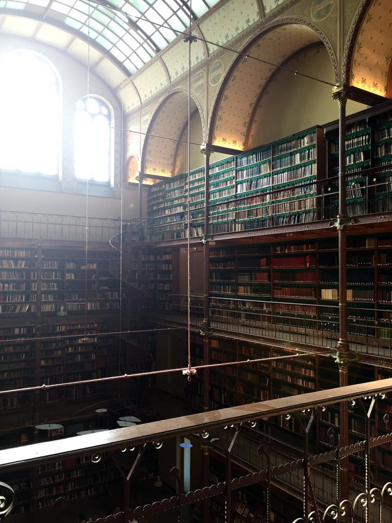 Coolest Libraries in Amsterdam - Rijksmuseum library
