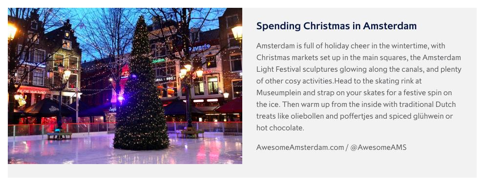 Eurostar Amsterdam City Breaks