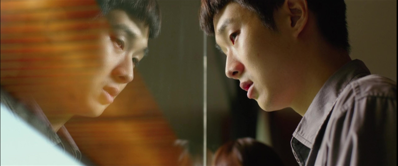 """Choi Woo-shik as Kim Ki-woo in the film """"Parasite""""."""