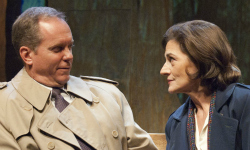 """David Parkes and Janet Ulrich Brooks in """"A Walk in the Woods"""""""