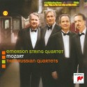 "Emerson String Quartet records Mozart's ""Prussian"" Quartets for Sony Classical"