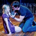 Kelly O'Sullivan and Nathan Hosner in Hesperia Writers Theatre credit Michael Brosilow