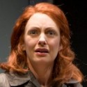 Deborah Staples as Rhonda in The Blonde the Brunette and the Vengeful Redhead Robert Hewett Writers Theatre 2012 credit Michael Brosilow