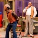 Allen Wilson as Fielding Allen Bilmore as Turnbo AC Smith as Becker and Cedric Young as Doub in August Wilson's Jitney Court Theatre 2012 credit Michael Brosilow