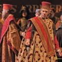 Thomas Hampson in the Council Chamber Scene of Verdi's Simon Boccanegra at Lyric Opera of Chicago 2012 credit Dan Rest