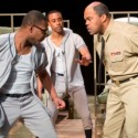From left, Tamarus Harvell, Eric Walker, Rashawn Thompson, Antoine Pierre Whitfield and Kory Pullam in A Soldier's Play at Raven credit  Dean LaPrairie