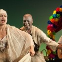 Sandra Delgado and Carlos Cruz in Pedro Paramo at Goodman Theatre credit Liz Lauren