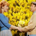 "Kate Baldwin as Sandra and Norbert Leo Butz as Edward in ""Big Fish"" Broadway in Chicago 2013 credit Paul Kolnik"